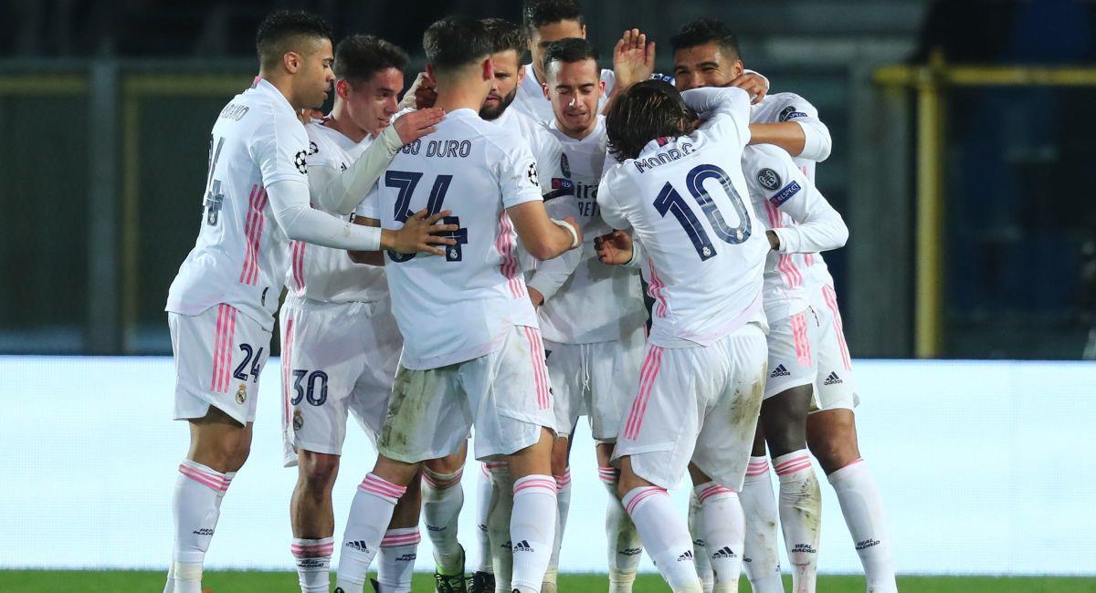 Real Madrid venció al Atalanta de visita. Foto: EFE
