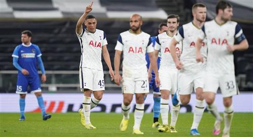 Lamela y Tottenham avanzan en la Europa League