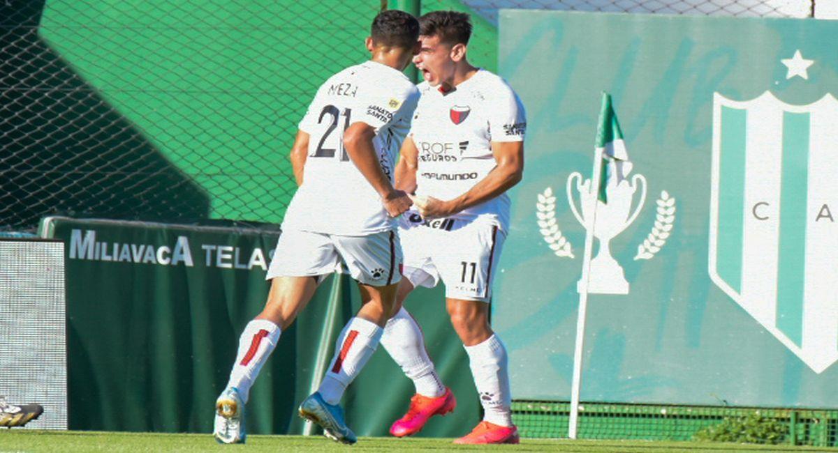 Colón se dio un festín con Banfield. Foto: Twitter Liga Profesional de Argentina