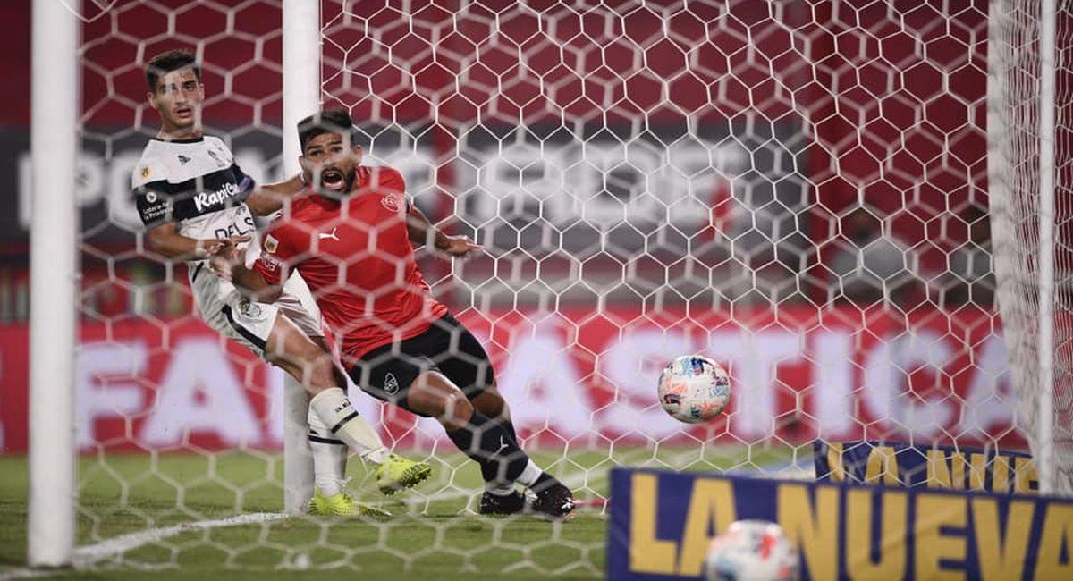 Independiente se hizo fuerte ante Gimnasia. Foto: Facebook Club Independiente