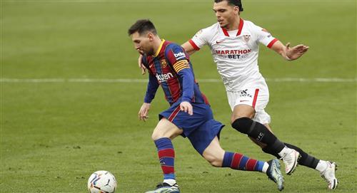 Lionel Messi volvió a anotar y Barcelona venció a Sevilla