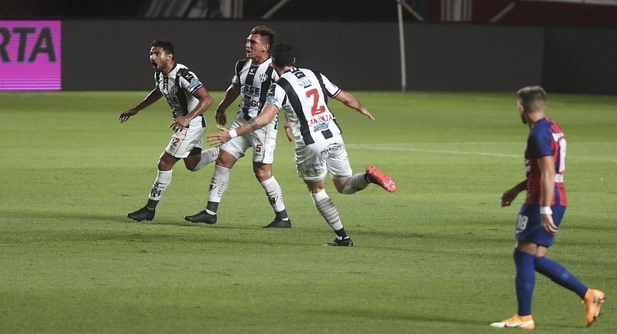 Central Córdoba pasó por encima a San Lorenzo. Foto: Twitter Liga Profesional de Argentina