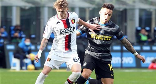 Inter de Milán, con Lautaro Martínez, se despunta en la Serie A