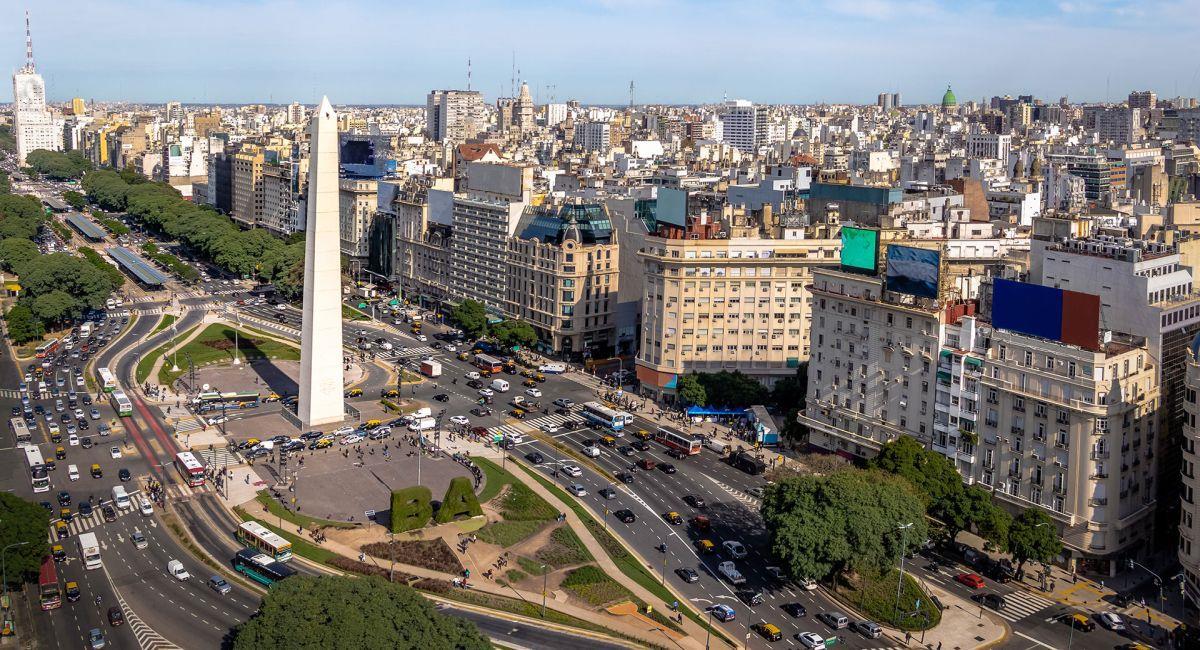 Vista de Buenos Aires. Foto: Twitter