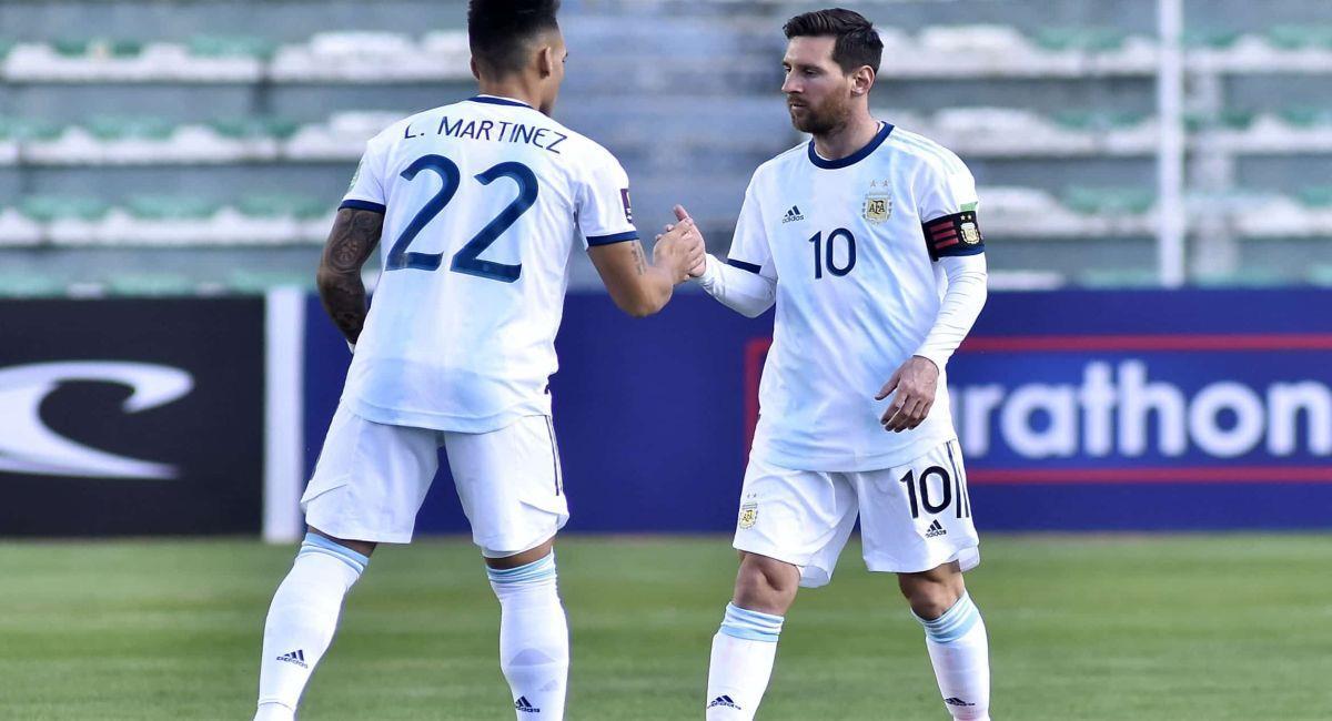 Argentina no tendrá actividad en las Eliminatorias, tras la suspensión de estas. Foto: Twitter