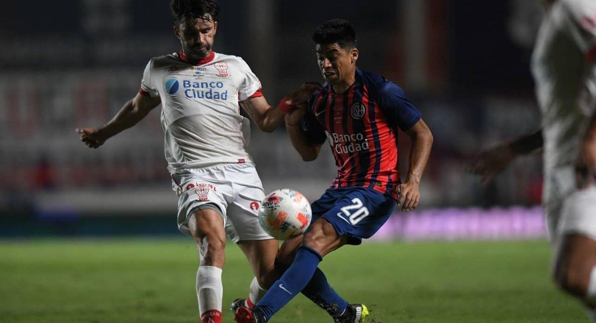San Lorenzo y Huracán empataron en el Nuevo Gasómetro. Foto: Facebook Club San Lorenzo