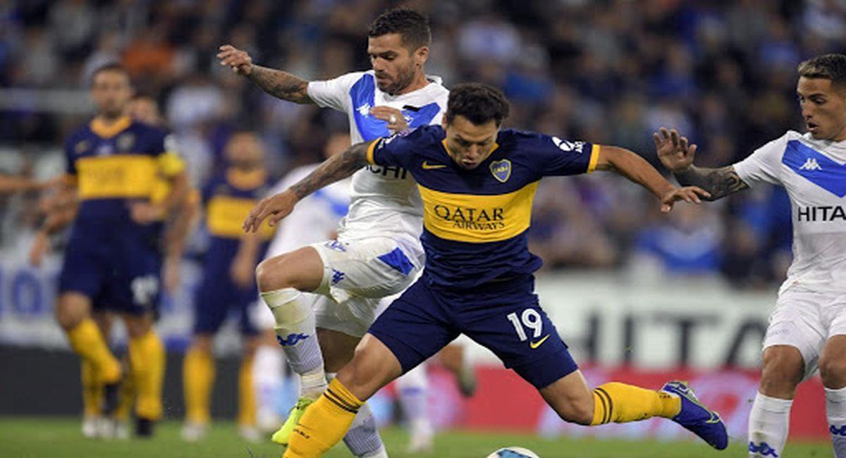 Vèlez y Boca, de poder a poder en la Copa de la Liga Profesional. Foto: Twitter