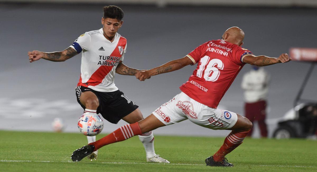 River Plate no pudo con Argentinos Juniors. Foto: Facebook Club River Plate