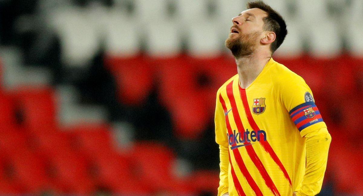 Barcelona no pudo remontar al PSG en Champions League. Foto: EFE