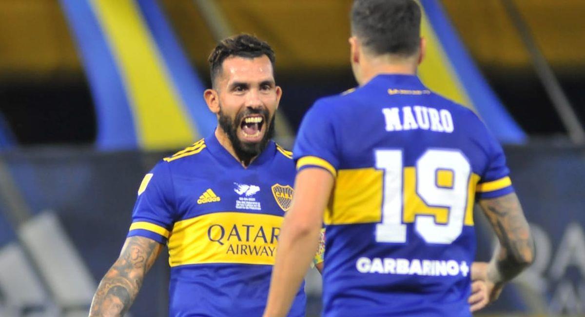 Boca Juniors venció como local a Defensa y Justicia. Foto: Twitter Club Boca Juniors
