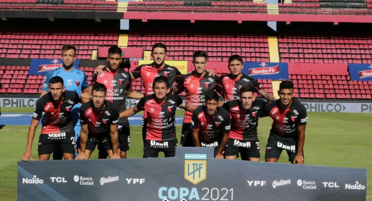 Colón de Santa Fe sumó un punto ante Argentinos Juniors. Foto: Twitter Club Colón de Santa Fe