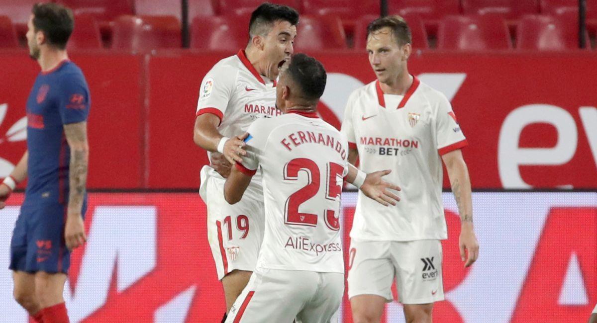 Sevilla ha prendido las alarmas en el Atlético de Madrid. Foto: EFE