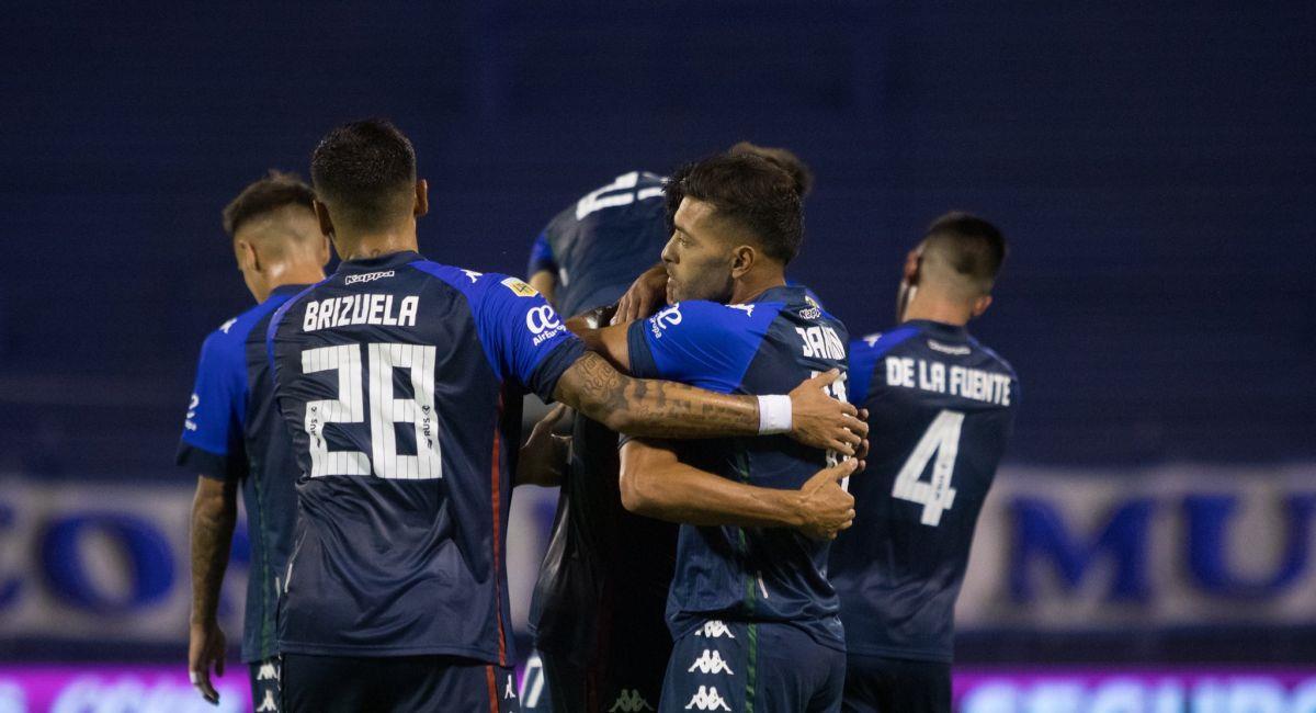Vélez fue más que Unión en el José Amalfitani. Foto: Twitter Interlatin Captura Futbolargentino.com