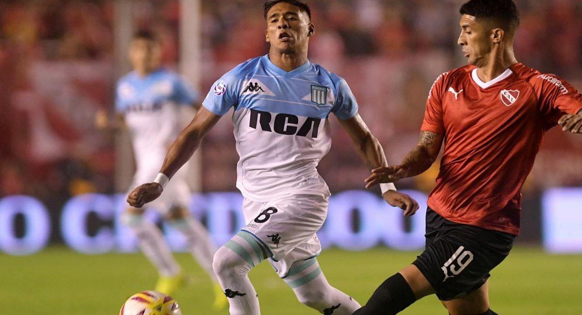 Racing e Independiente chocarán por la Copa de la Liga Profesional. Foto: Twitter