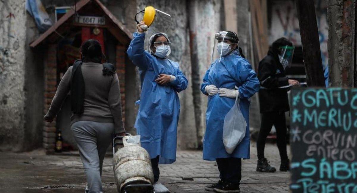 El coronavirus ha impactado de manera fuerte en la Argentina. Foto: Twitter