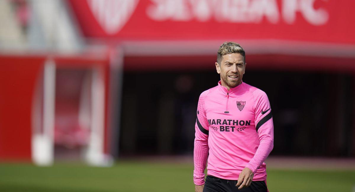 Alejandro Gómez, feliz de haber aceptado la oferta del Sevilla. Foto: Facebook