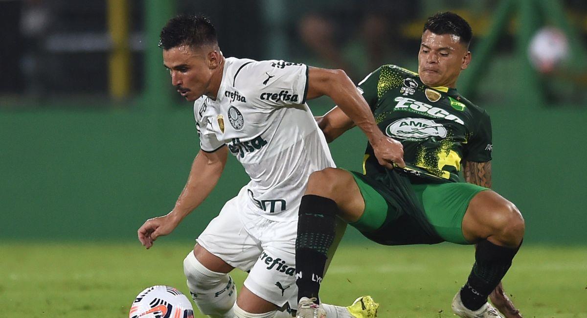 Defensa y Justicia no pudo con Palmeiras. Foto: EFE