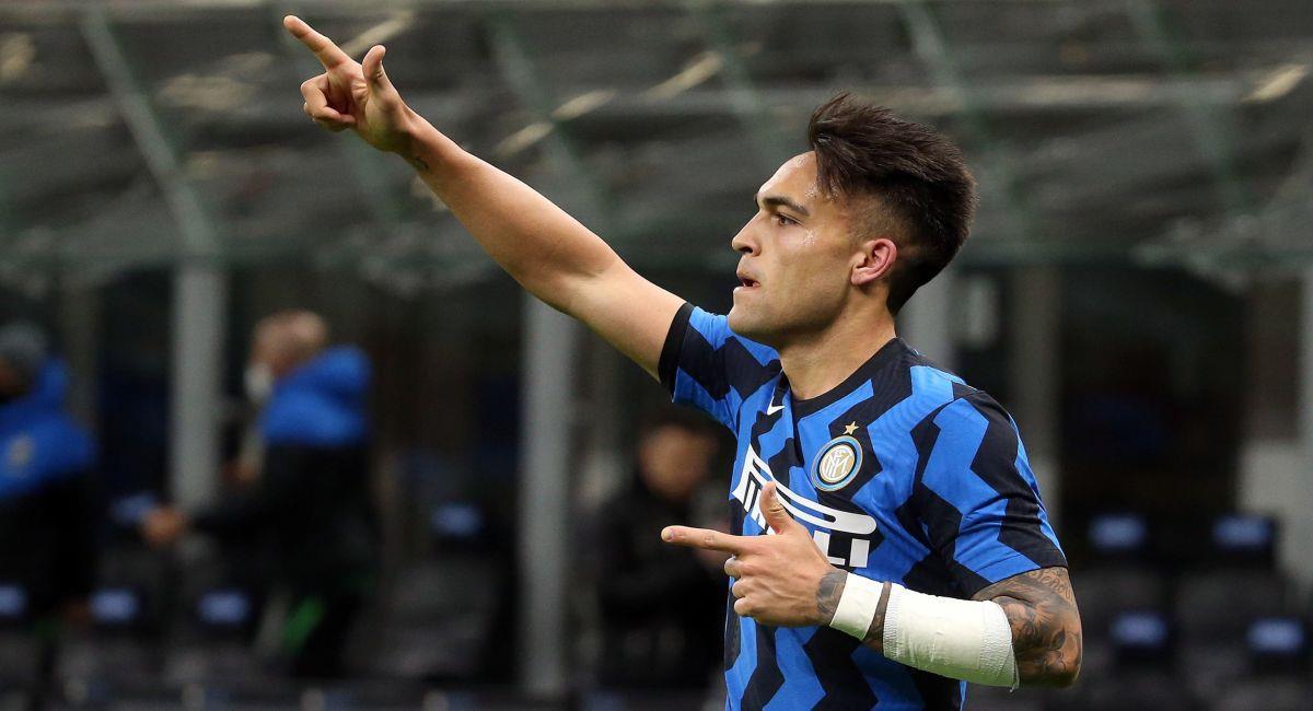 Lautaro Martínez es una de las cartas gol del Inter de Milán. Foto: EFE