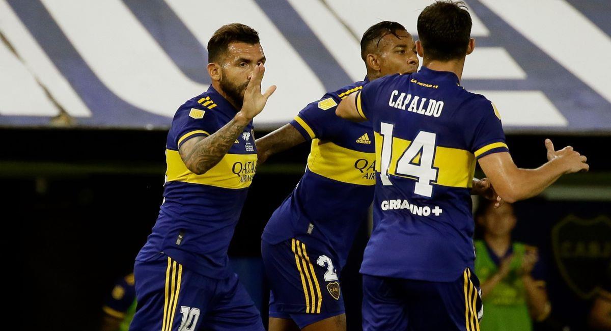El grupo de Boca en la Libertadores