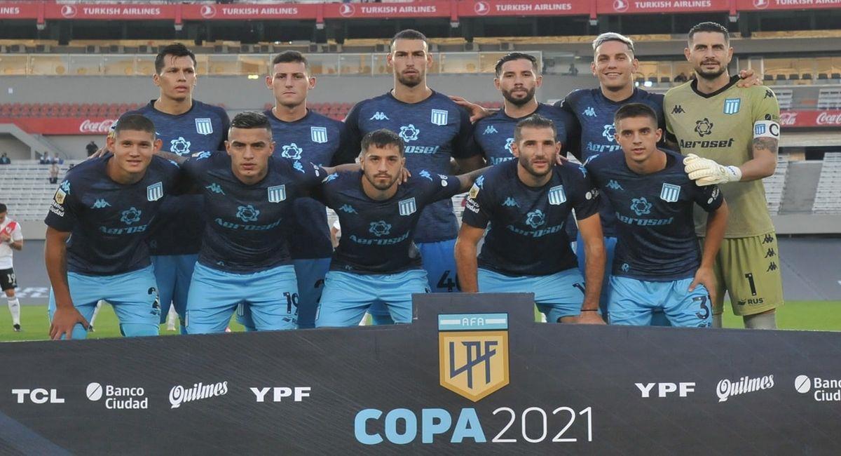Racing Club dice presente en la fase de grupos de la Copa Libertadores. Foto: Facebook Club Racing Club