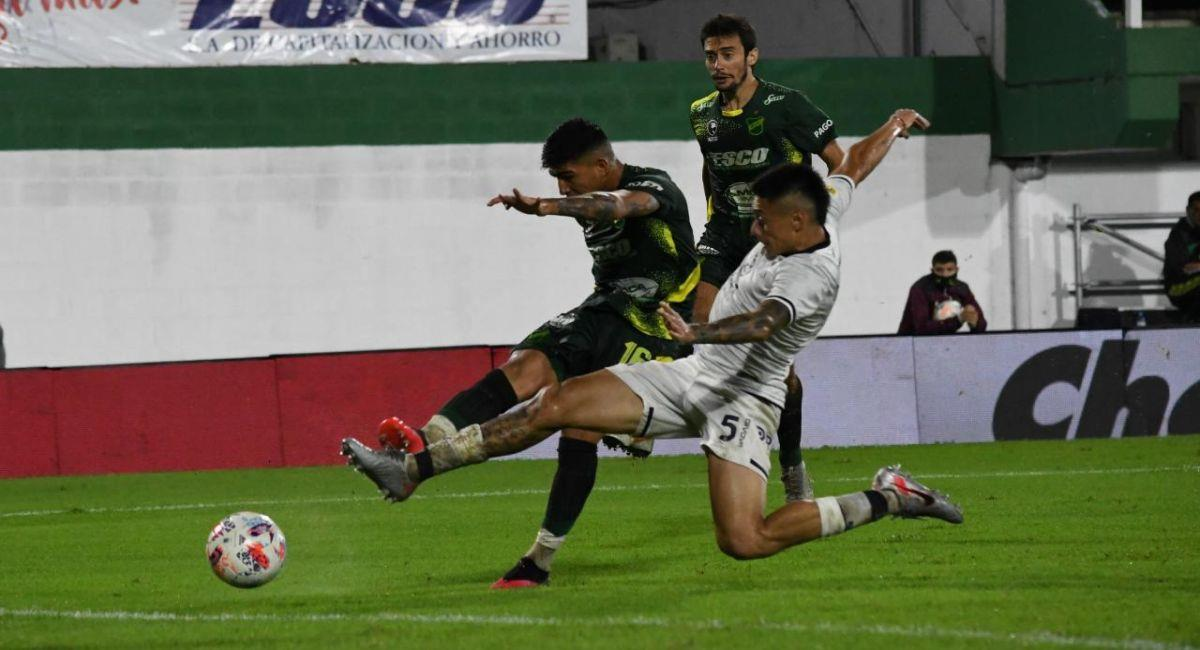 Defensa y Justicia solo pudo empatar con Talleres. Foto: Twitter Liga Profesional de Argentina