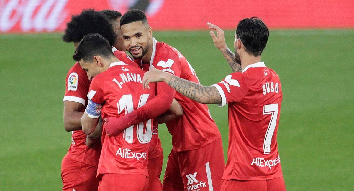 El Sevilla sigue imparable en LaLiga. Foto: EFE