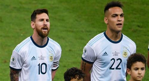 Nicolás Burdisso derrochó elogios hacia Lautaro Martínez y Lionel Messi