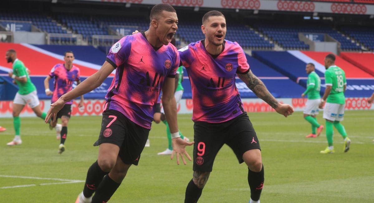 PSG se llevó tres puntos valiosos en la Ligue 1. Foto: EFE