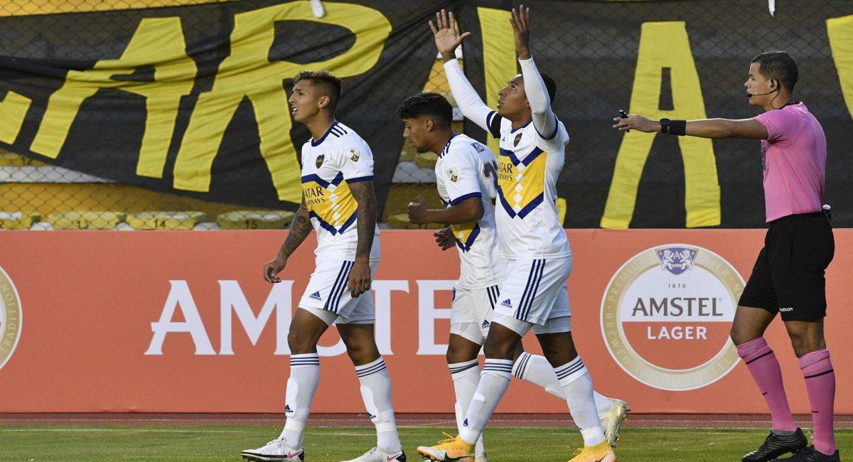 Boca Juniors venció a The Strongest en la ciudad de La Paz. Foto: EFE