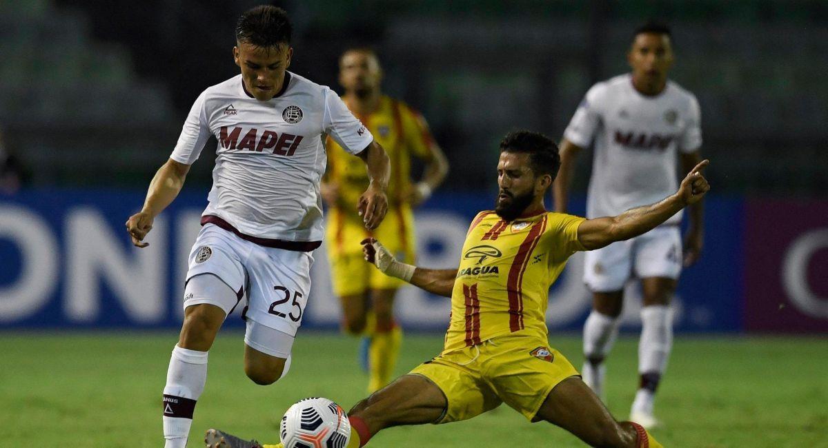 Lanús se trajo los tres puntos de Venezuela en la Copa Sudamericana. Foto: Facebook Club Lanús