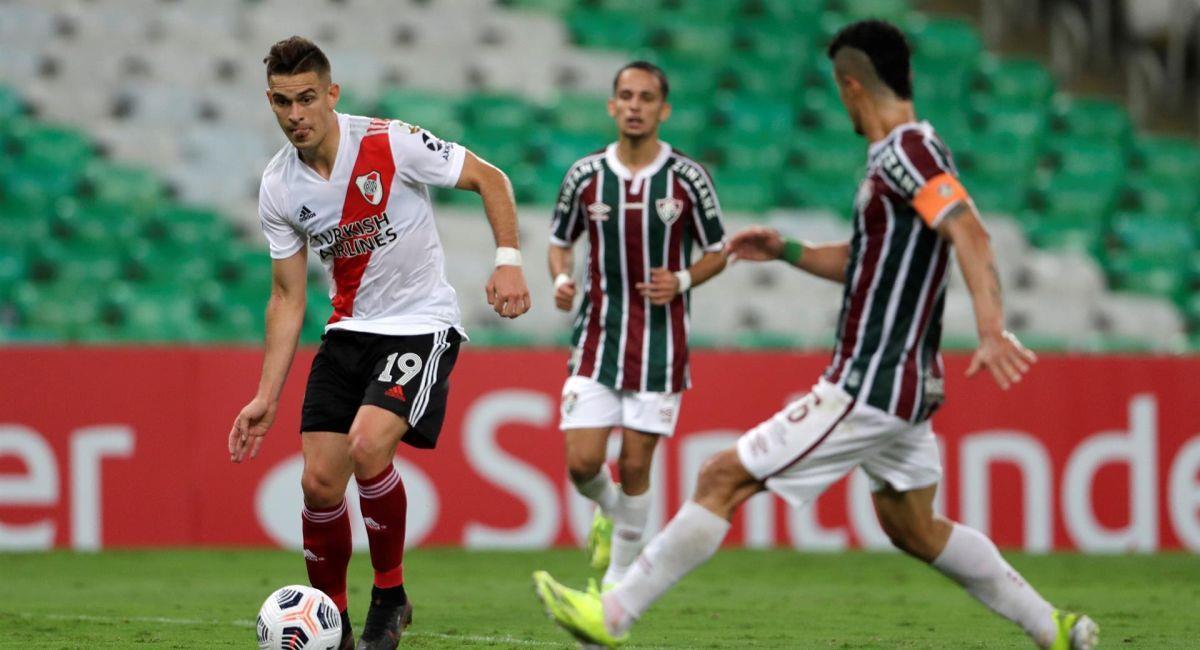 River Plate empató de visita ante Fluminense por la Copa Libertadores. Foto: EFE