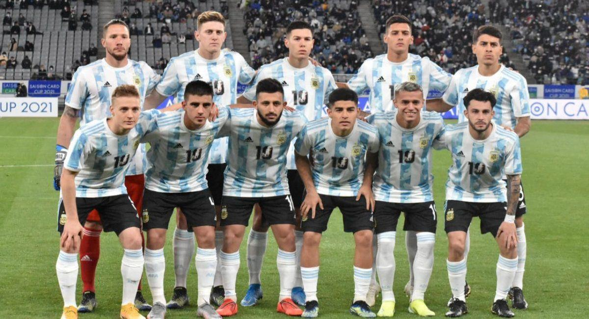 Selección de Argentina quiere el oro en Tokio 2020. Foto: Twitter