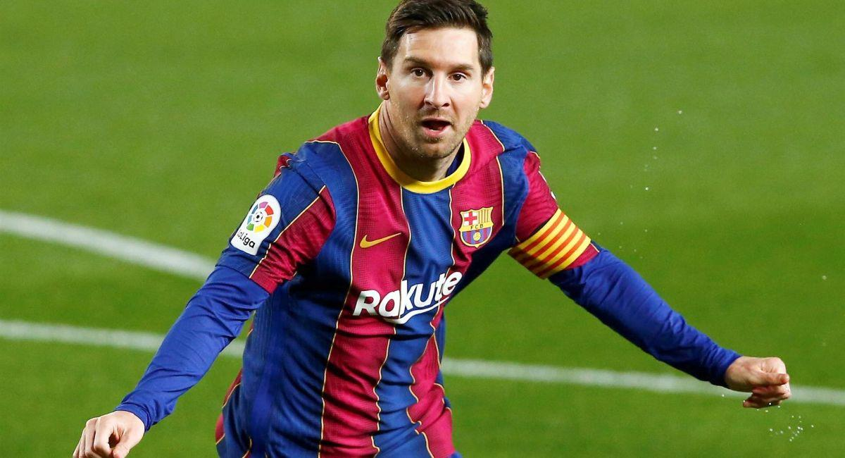 Lionel Messi sigue brillando con el Barcelona. Foto: EFE