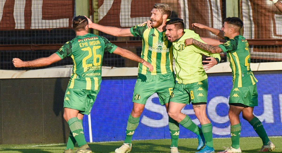 Aldosivi derrotó de visita a Platense. Foto: Twitter Liga Profesional de Argentina