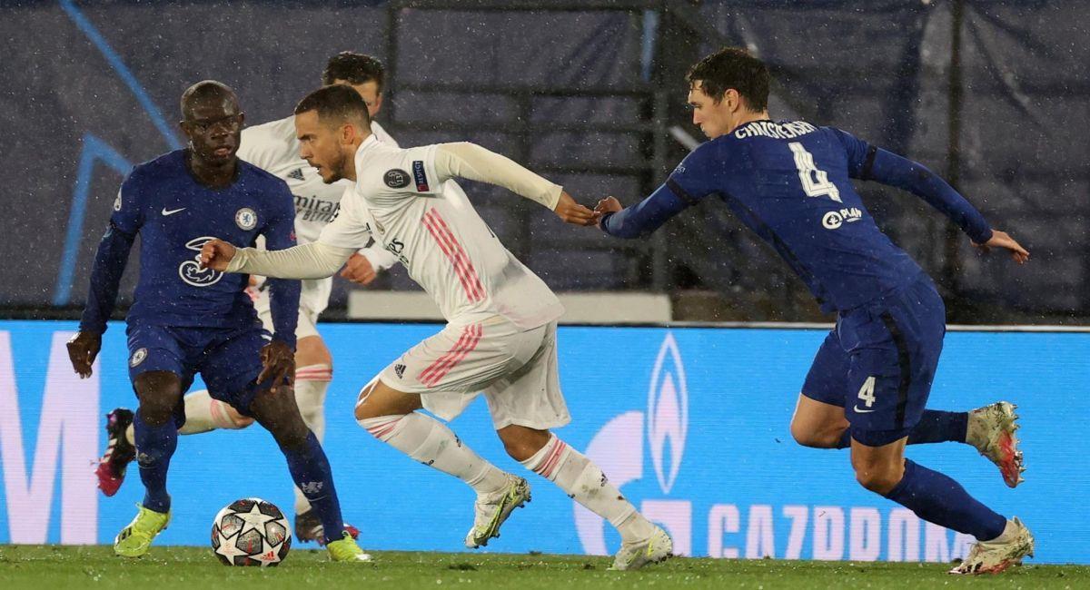 Real Madrid no pudo con el Chelsea. Foto: EFE