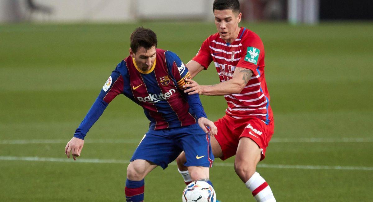 Barcelona falló de local ante el Granada. Foto: EFE