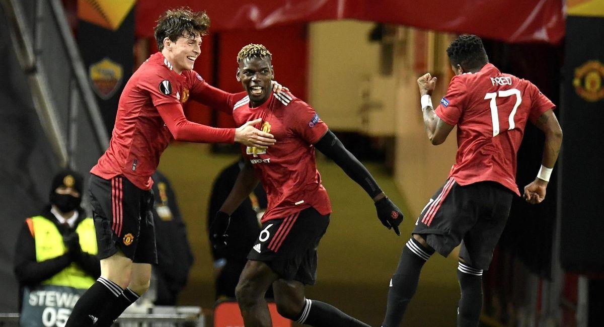 Manchester United cerca de jugar la final de la Europa League. Foto: EFE