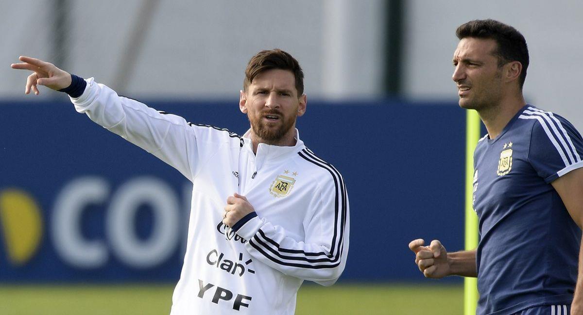Lionel Messi integra la lista presentada por Lionel Scaloni. Foto: Twitter