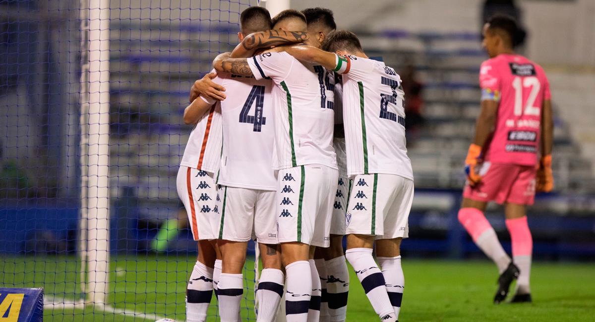 Vélez Sarsfield sumó de a tres este viernes. Foto: Twitter @Velez
