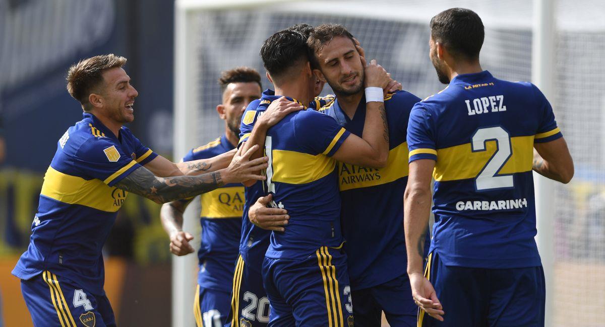 Boca Juniors ya está en los cuartos de la Copa de la Liga Profesional. Foto: Twitter Liga Profesional de Argentina
