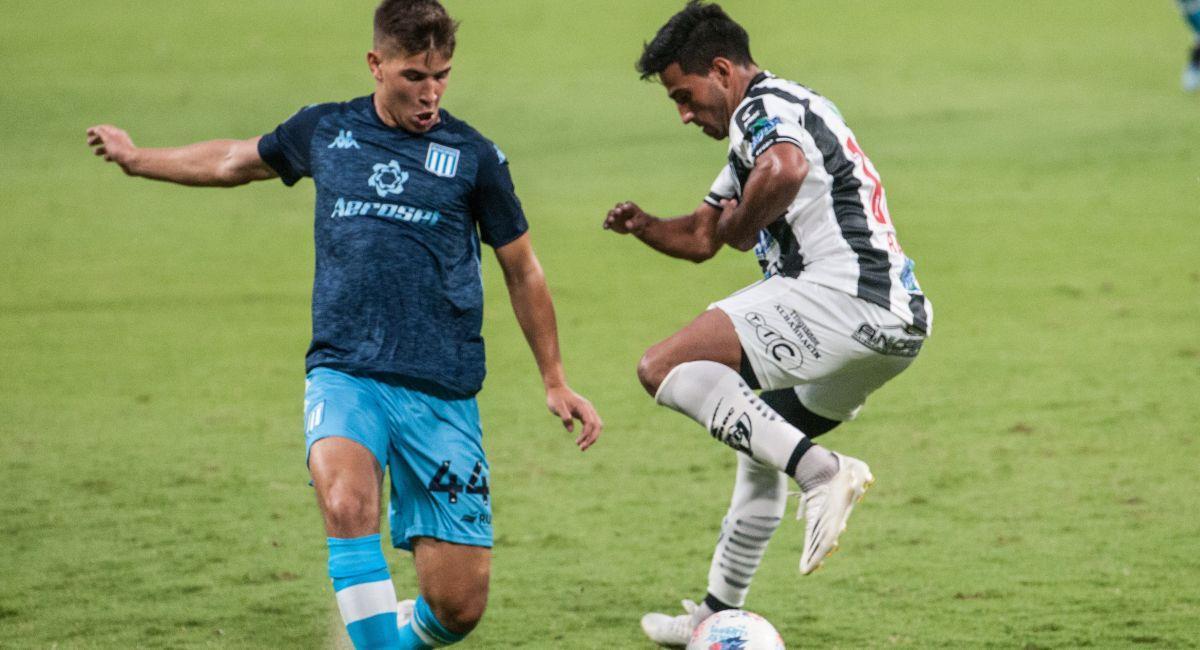 Racing no pudo con Central Córdoba. Foto: Twitter Liga Profesional de Argentina