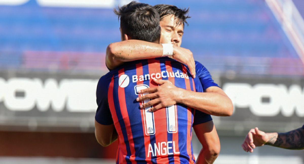 San Loenzo venció de local a Godoy Cruz. Foto: Twitter Liga Profesional de Argentina