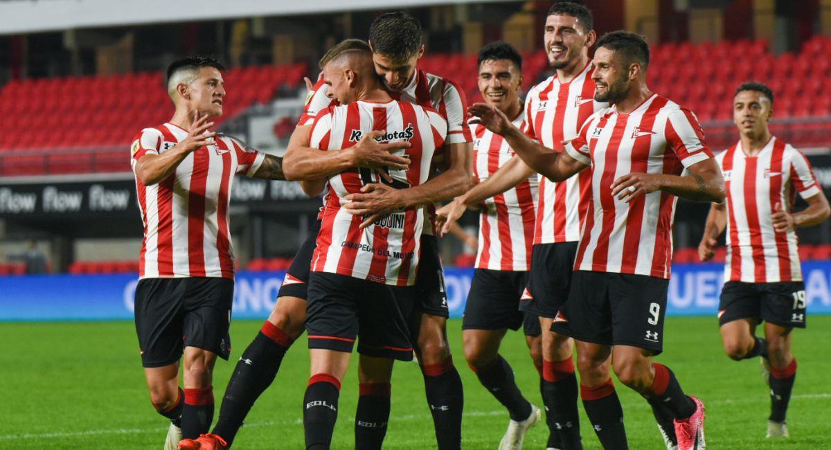 Estudiantes ya está en los cuartos de final de la Copa de la Liga Profesional. Foto: Twitter Liga Profesional de Argentina
