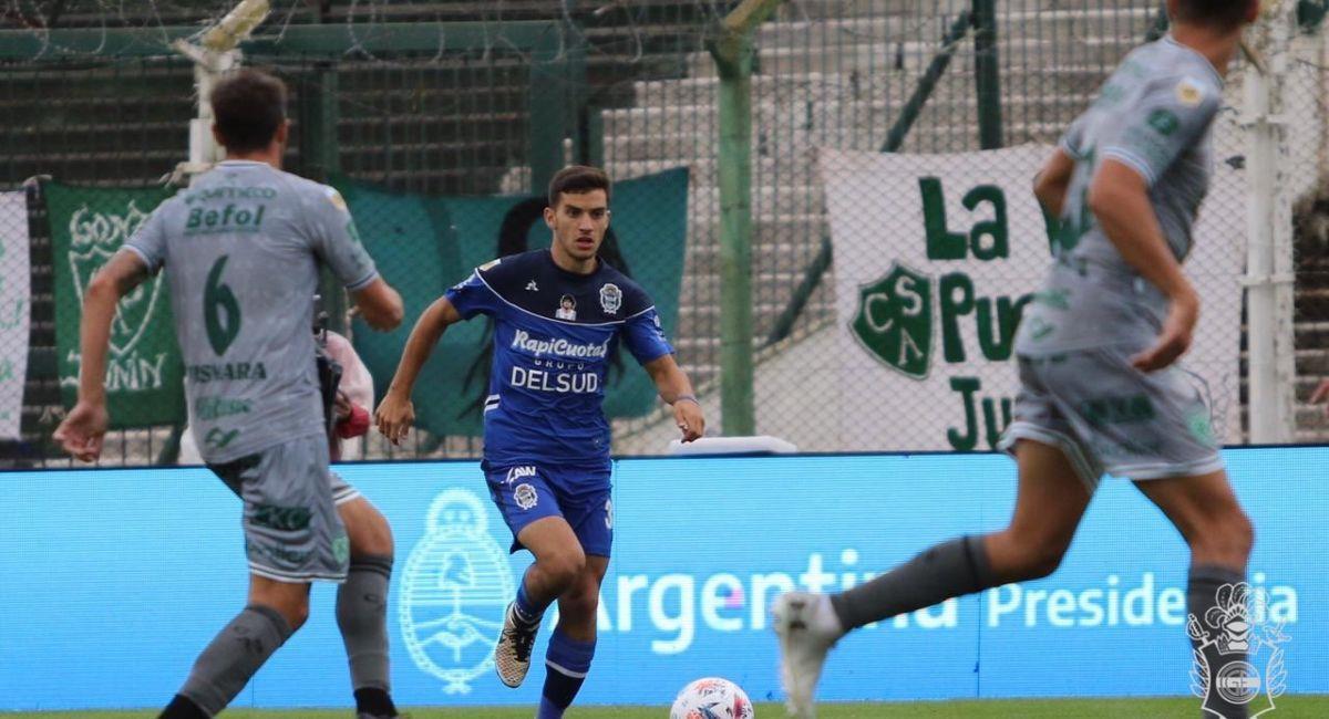 Gimnasia empató de visita ante Sarmiento. Foto: Twitter Liga Profesional de Argentina