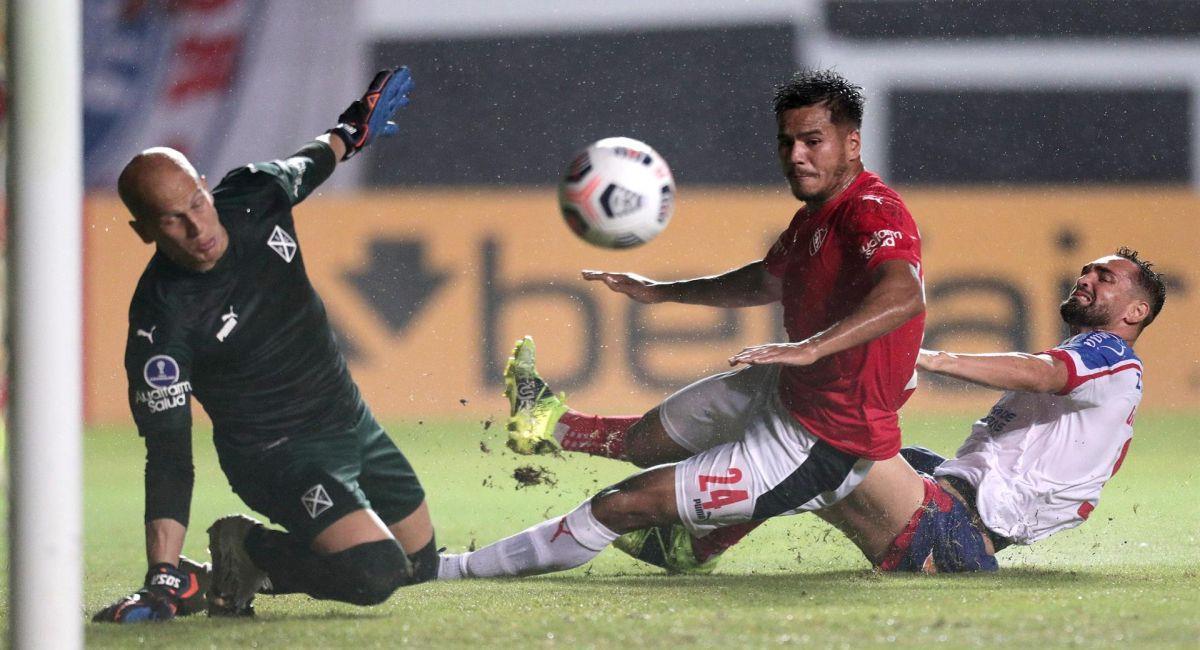 Independiente se trajo un punto de Brasil por la Copa Sudamericana. Foto: EFE