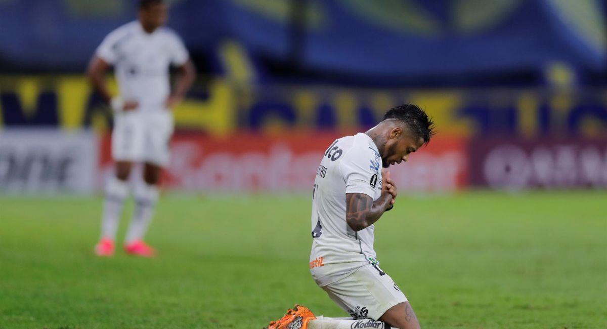Boca Juniors perdió en Guayaquil ante el Barcelona. Foto: EFE