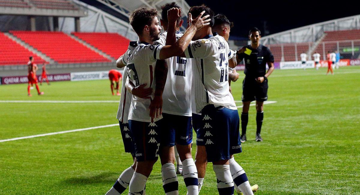 Vélez Sarsfield ya sabe lo que es celebrar en la Copa Libertadores. Foto: Facebook Club Vélez Sarsfield