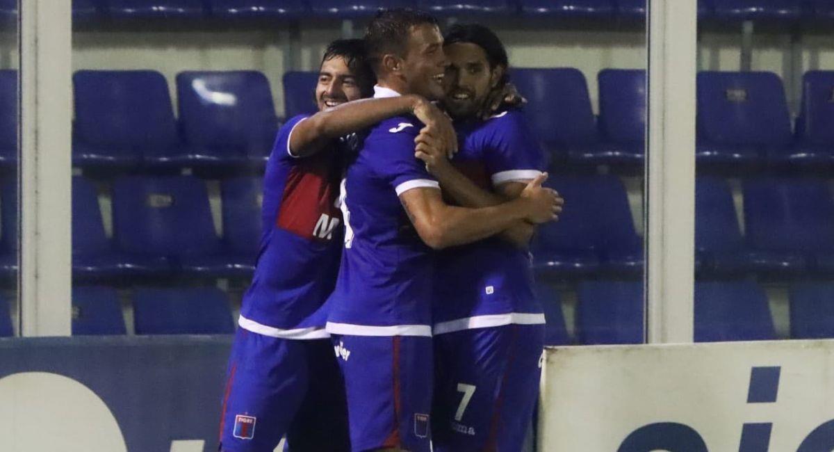 Tigre sigue sumando triunfos en la Primera Nacional. Foto: Facebook Club Tigre