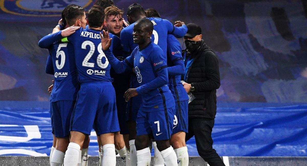 Chelsea es el segundo finalista de la Champions League. Foto: EFE