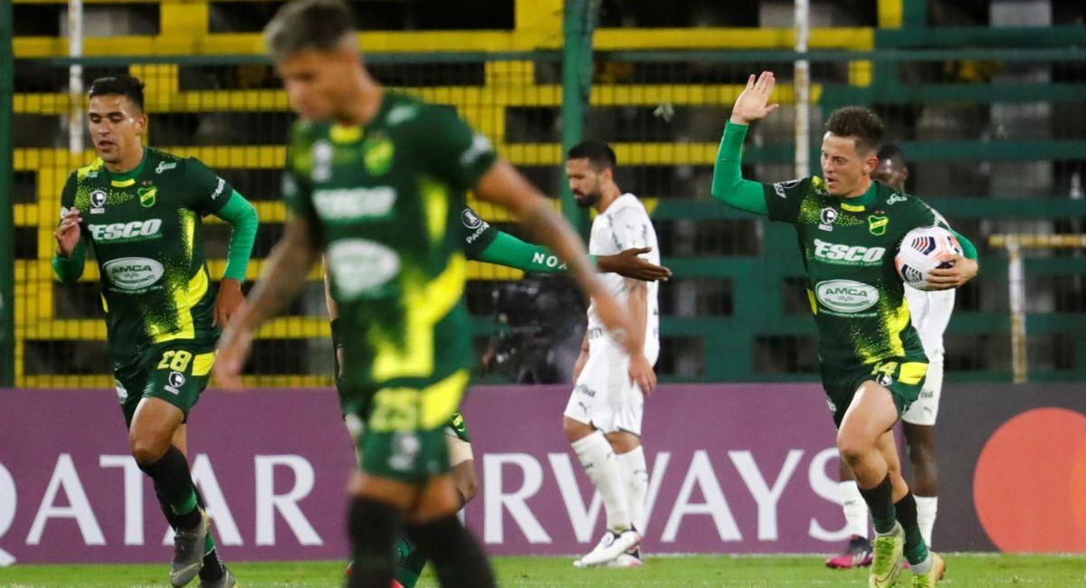 Defensa y Justicia perdió de local ante Palmeiras. Foto: EFE